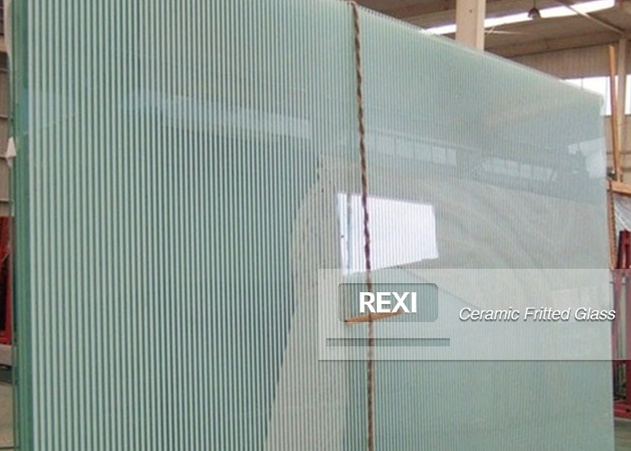 Ceramic Fritted Glass Architectural Glass China Tempered